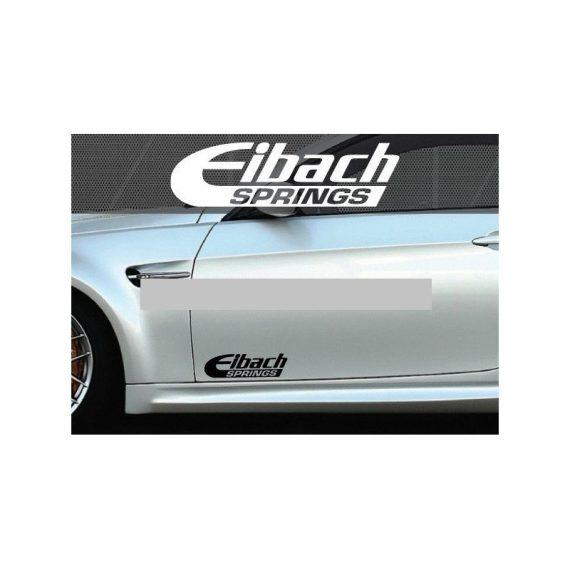 set 2 buc sticker auto lateral eibach