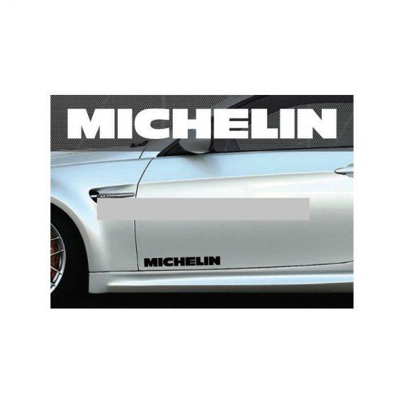 set 2 buc sticker auto lateral michelin