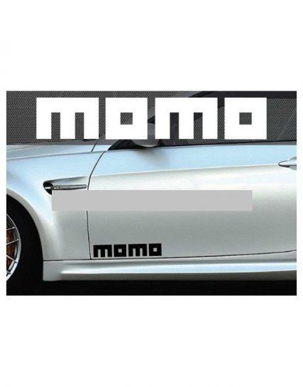 set 2 buc sticker auto lateral momo