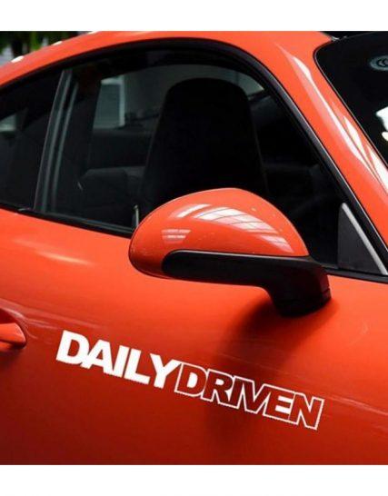 sticker auto daily driven 1