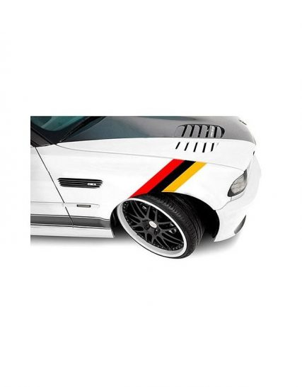 sticker ornament auto model bmw m power german