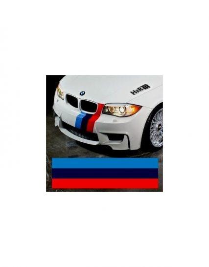 sticker ornament auto model bmw m power v1
