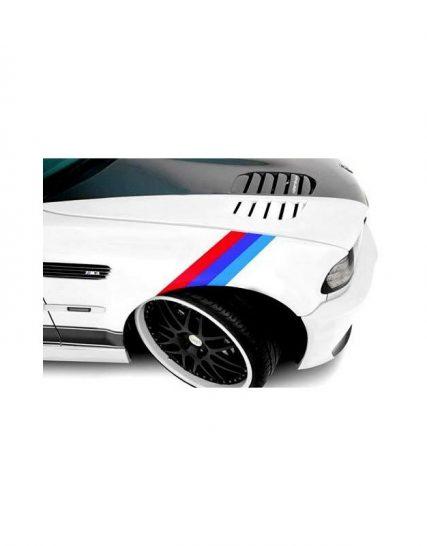 sticker ornament auto model bmw m power v2