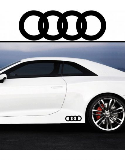 sticker prag audi set 2 buc
