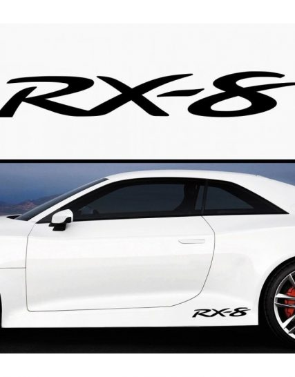 sticker prag rx 8 set 2 buc