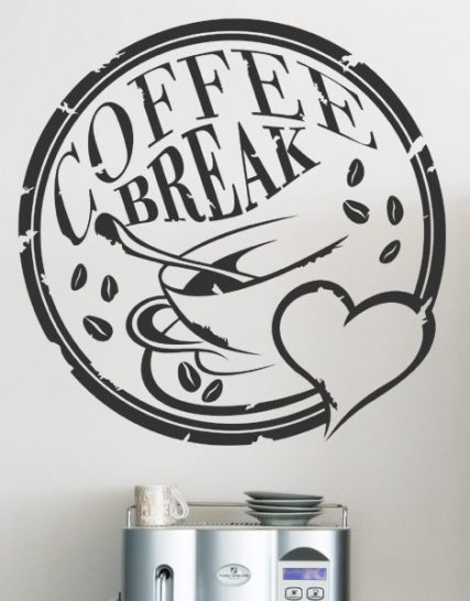 coffe break colant decorativ