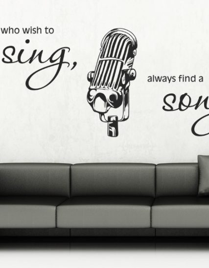 sing song stickere perete