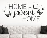 sweet home stickere decorative