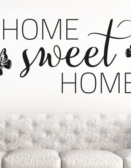 sweet home stickere decorative