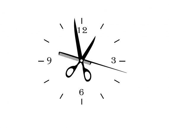 sticker frize ceas clock2