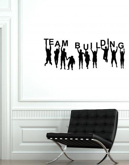 sticker office team building